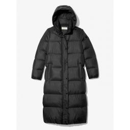 Nylon Puffer Coat