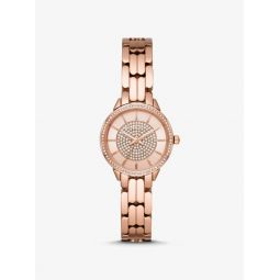 Mini Allie Rose Gold-Tone Watch