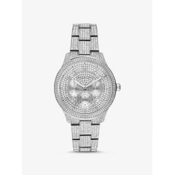 Runway Pave Silver-Tone Watch
