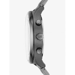 Merrick Gunmetal-Tone Watch