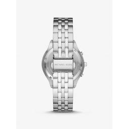 Sutter Silver-Tone Watch