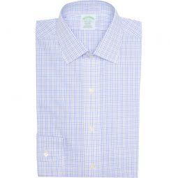 Grid Print Non-Iron Milano Fit Dress Shirt