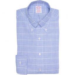 Glen Plaid Madison Fit Dress Shirt