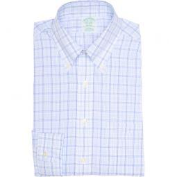 Plaid Non-Iron Milano Fit Dress Shirt