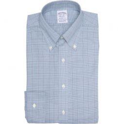 Plaid Print Non-Iron Regent Fit Dress Shirt