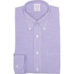 GIngham Print Classic Fit Dress Shirt