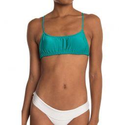 Sol Searcher Ruched Bikini Top