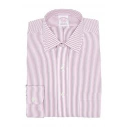 Stripe Print Long Sleeve Madison Fit Shirt