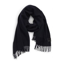 Solid Merino Wool Scarf