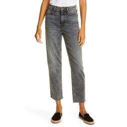 Nina High Waist Ankle Cigarette Jeans