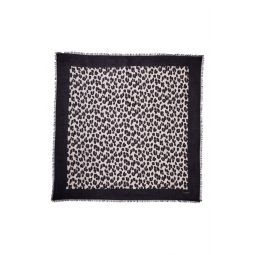forest feline square scarf