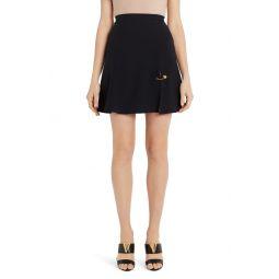 Safety Pin A-Line Miniskirt