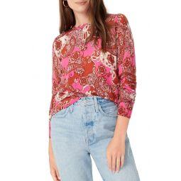 Margot Vintage Paisley Sweater
