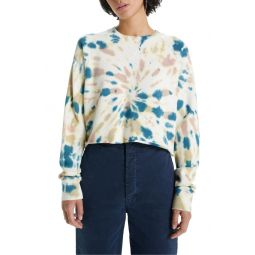The Loafer Tie Dye Crop Sweatshirt