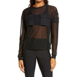 Tactical Sheer Cover-Up Top
