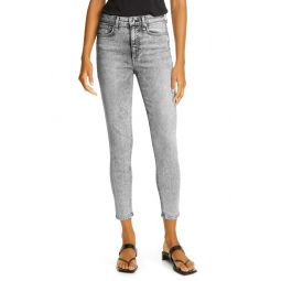 Cate Acid Wash Ankle Skinny Jeans