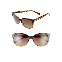 57mm Polarized Retro Sunglasses