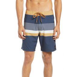 Rodger Stripe Board Shorts