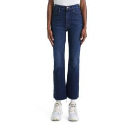 The Hustler Frayed Ankle Jeans