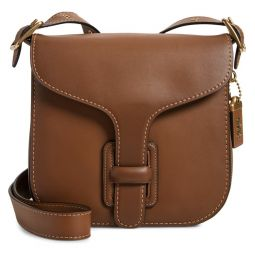 Courier Leather Convertible Bag