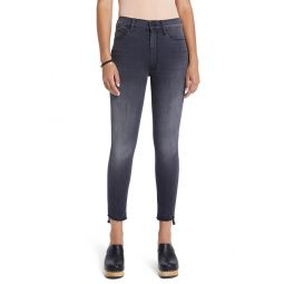 The Stunner Ankle Step Fray Jeans