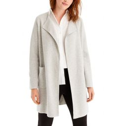 Juliette Collarless Sweater Blazer