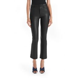 The Insider High Waist Crop Bootcut Faux Leather Pants
