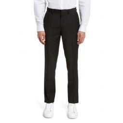Black Skinny Fit Dress Pants