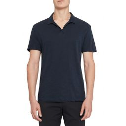 Willem Cosmos Cotton Short Sleeve Polo