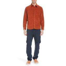 Corduroy Button-Up Shirt
