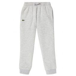 Solid Fleece Jogger Sweatpants