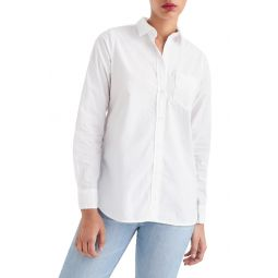 Classic Fit Cotton Poplin Boy Shirt
