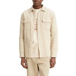 Jackson Worker Corduroy Button-Up Overshirt