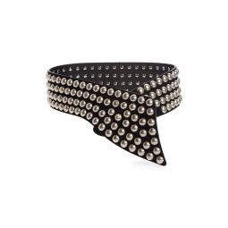 Milda Studded Suede Belt