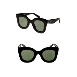 Special Fit 49mm Cat Eye Sunglasses
