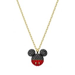 Mickey Crystal Pendant Necklace