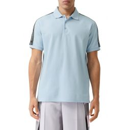 Stonely Logo Tape Short Sleeve Polo