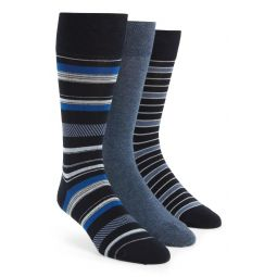 Assorted 3-Pack Dress Socks