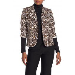 Leopard Printed School Boy Blazer