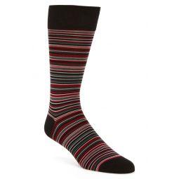 Multistripe Crew Socks