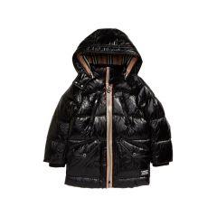Kids Kaison Icon Stripe Down Puffer Coat
