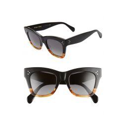 50mm Polarized Square Sunglasses