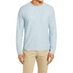 Slim Fit Long Sleeve Pocket T-Shirt