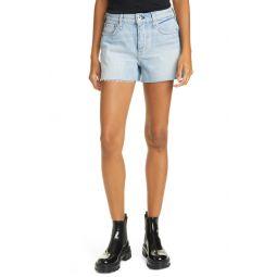 Dre High Waist Denim Shorts
