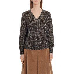 Wool Tweed Sweater