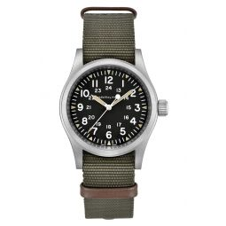 Khaki Field Mechanical NATO Strap Watch, 38mm