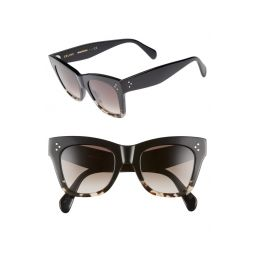 50mm Gradient Butterfly Sunglasses