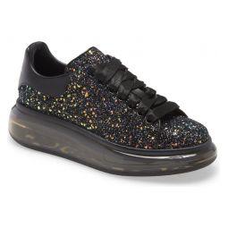 Glitter Bubble Sole Platform Sneaker