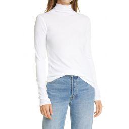 Cotton Turtleneck Top