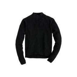 Cashmere Mock Neck Sweater